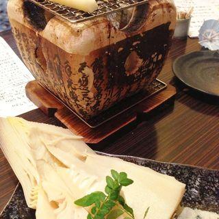 タケノコのあぶり焼き(真 (シン))