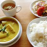 焼き豆腐のココナッツカレー(カフェ クロスロード )