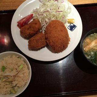 本日の揚げ物定食(寅福 ルミネ新宿店 )