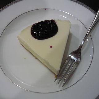 珈琲屋のレアチーズケーキ(鎌倉珈琲香房)