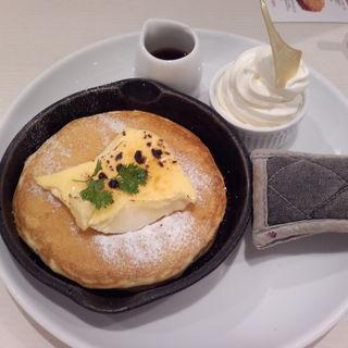 クレームブリュレ窯出しフレンチパンケーキ (Butter 茶屋町 (バター))