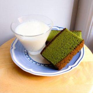 Green Tea Castella(Paris Baguette)