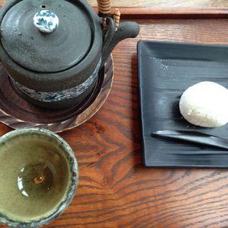大福セット(マメゾウアンドカフェ 中之島店 (Mamezo&Cafe))