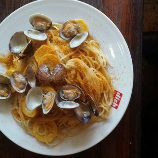 ズッキーニとカラスミのパスタ(dish)