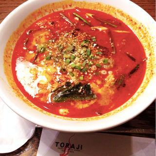 ユッケジャンスープ(焼肉トラジ 豊洲店 )