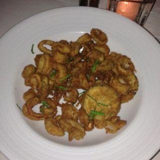 Fried calamari(Blue Water Grill)