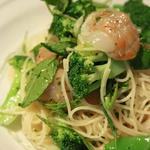 ホタテとお野菜のカッペリーニ