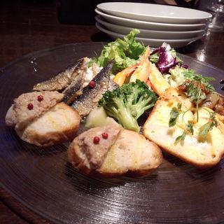 前菜盛り合わせ(グローブカフェ (GROVE cafe))