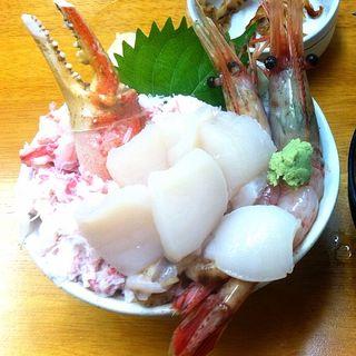 わがまま3品丼(小)(北のどんぶり屋 滝波食堂)