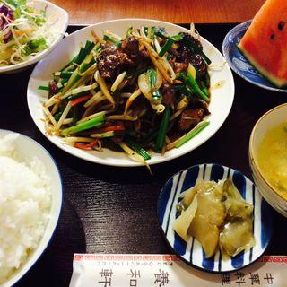 レバニラ定食(養和軒 )