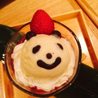 濃厚クリームのパンダコッタ (かまくら 上野の森さくらテラス店 )