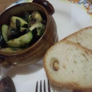 サザエのバジルソース ココット焼き(Dining Riz Ohno (ダイニング リ オーノ))