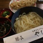 とろろこんぶうどん(やしま 円山町店)