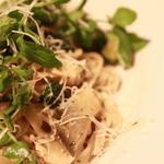 鮎と夏の緑野菜キッタラ