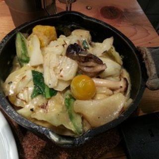 1日分の野菜グリーンカレー(キャンプエクスプレス 武蔵小杉東急スクエア店 (camp express))