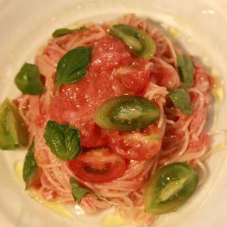 マグロとトマトソースのカッペリーニ(AGカフェ (AG cafe))