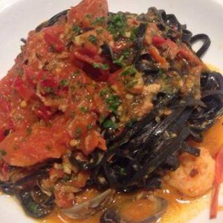 イカ墨パスタ(Taormina Sicilian Cuisine)