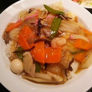 中華丼(東海苑)