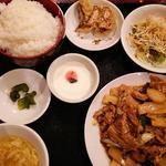 豚肉のピリ辛炒めセット