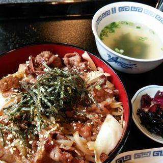焼肉丼(紫陽花 )