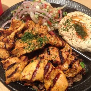 chicken Kabob Plate(Pita Bar & Grill)