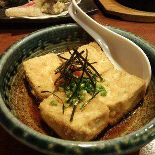 揚げだし豆腐(十徳や 与次郎店)