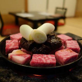 ぶつ切り牛鍋(太田なわのれん (おおたなわのれん))