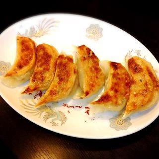 餃子(とうふらぁめん蘭蘭)