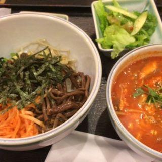 ビビンバ&ユッケジャンスープ