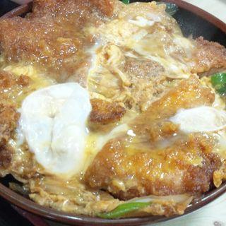 カツ丼(うどん丸一)
