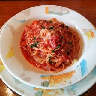 トマトのスパゲッティ バジル風味(手作りの味 マルサラ )