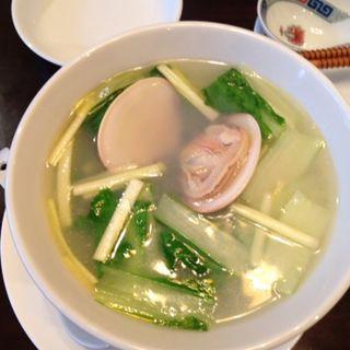 絶品スープはまぐり麺(μ (ミュー))