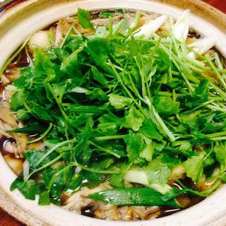 きりたんぽ鍋(酒どこ べらぼう (さけどこ べらぼう))