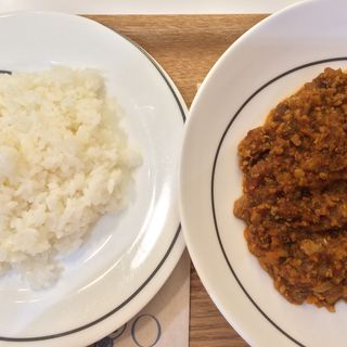 もち豚の挽肉とレンズ豆のカレー(キャスロンカフェ ecute 品川 (caslon cafe))