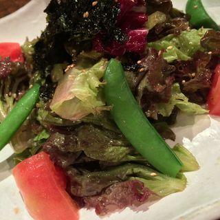 チョレギサラダ(うしのよだれ)