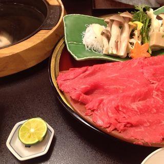 すき焼き(たか福 羽田空港国際線ターミナル店 )