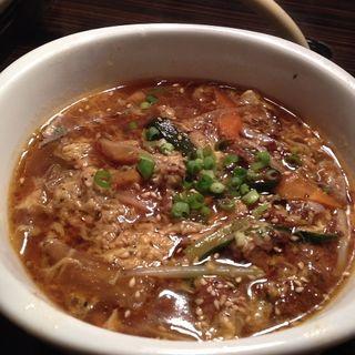 ユッケジャンスープ(俺の焼肉屋 )