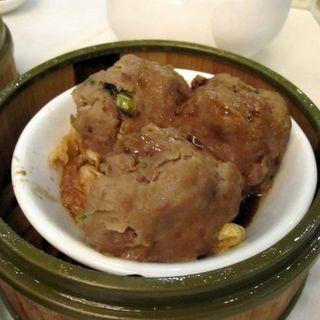 pork meatballs(Jing Fong Restaurant)
