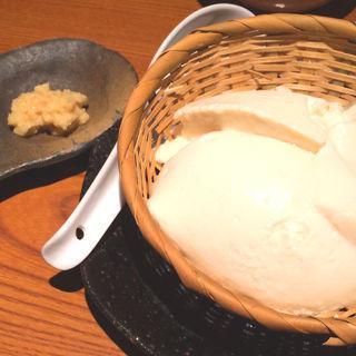 自家製ざる豆腐(露地もん (ろじもん))