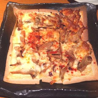 ごぼうのきんぴらのおばんざいピザ(露地もん (ろじもん))