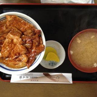 豚丼 ロース(ぶた丼のとん田)
