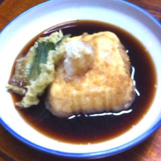 揚げだし豆腐(肥後すし (ひごすし))