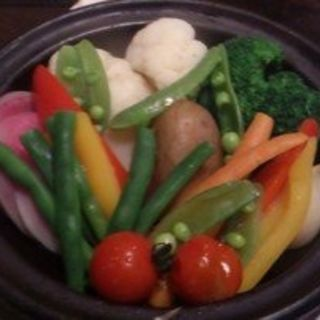 季節野菜のバーニャカウダ~タジン鍋仕立て~ (アナログ カフェ ラウンジ トーキョー (ANALOG CAFE/LOUNGETOKYO))