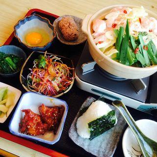 モツ鍋ランチ(呑食里 (ドングリ))