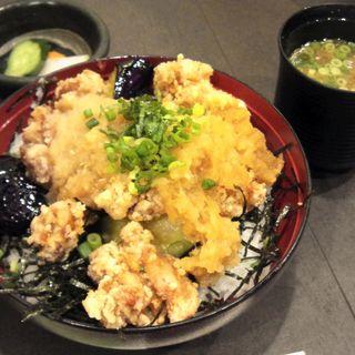 とり唐おろし丼(ランチメニュー)(一番どり ゲートシティー大崎店 (いちばんどり))