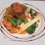 黒鯛のポワレ・トマトとすだちのヴィネグレットソース
