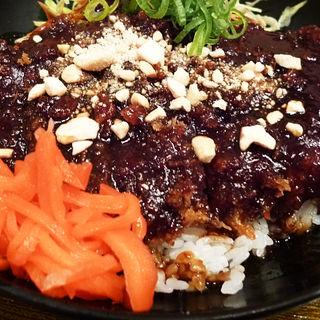 味噌かつ丼(だるま堂 (大阪とんかつ))