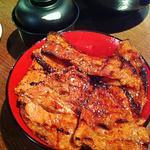 炭火焼き豚丼(ミックス)(ぶたいち 東京人形町店 )