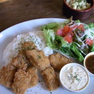 コロコロポークのごはんプレート梅しそソース(アーク プライベートラウンジ カフェダイニング (ark-PRIVATE LOUNGE/CAFE&DINING))