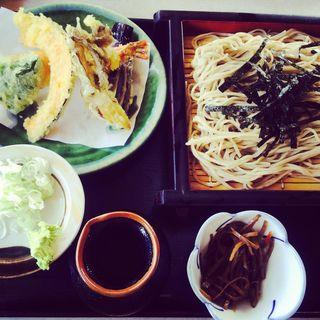 天ざる蕎麦(ふくいち)